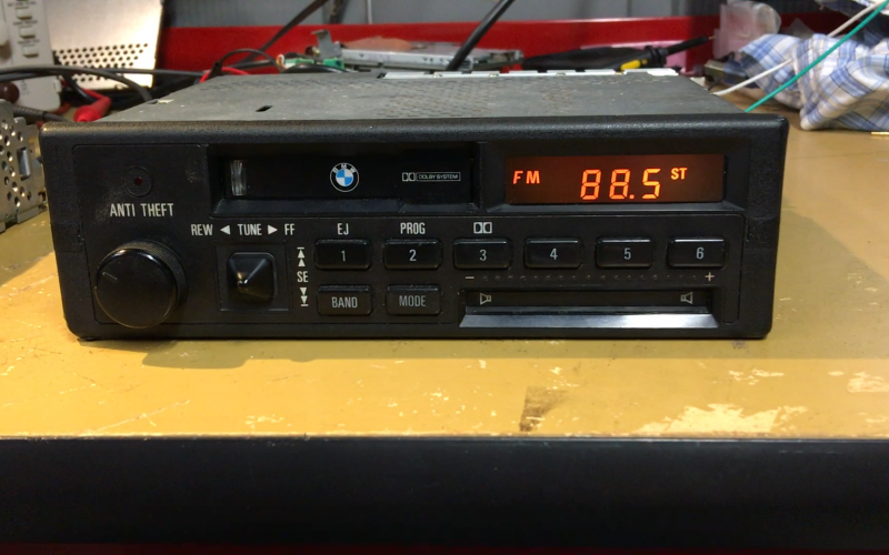 Updating a BMW cassette stereo – Jay Coggin